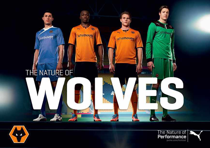 Nueva camiseta Puma del Wolverhampton 2013-14 711fe854cbf65