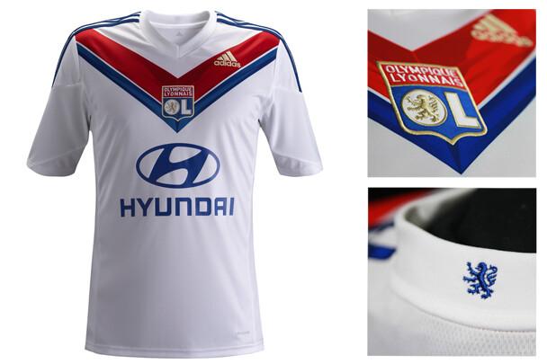Camiseta Olympique Lyonnais futbol
