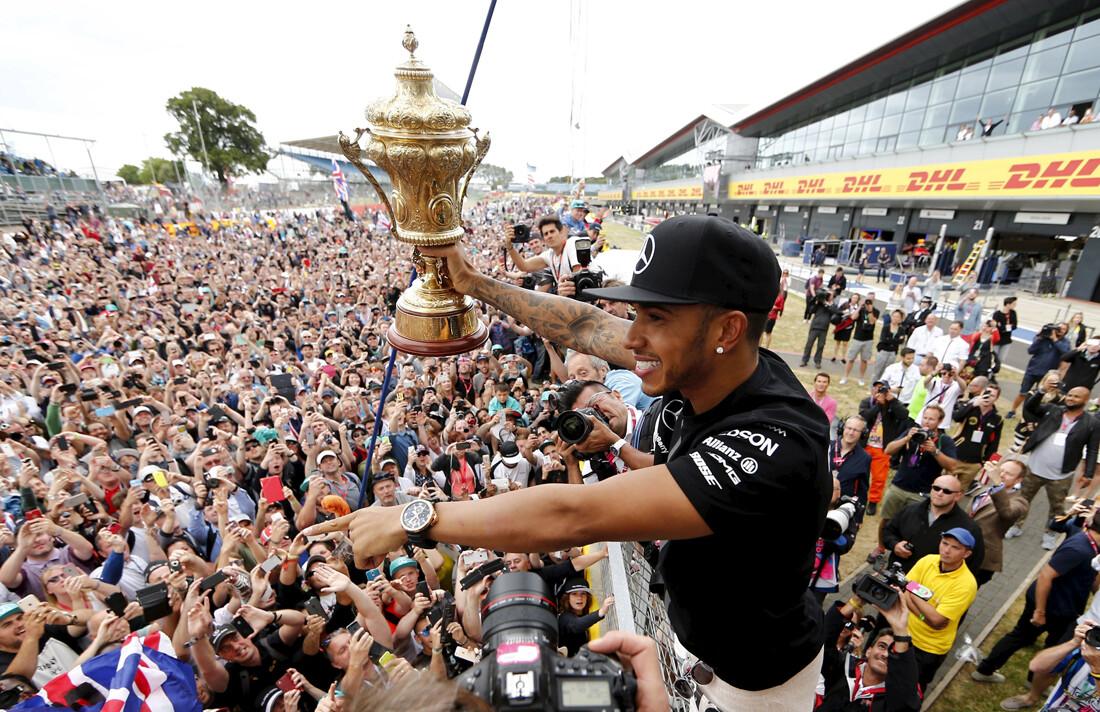 Las imágenes más emocionantes del GP de Gran Bretaña