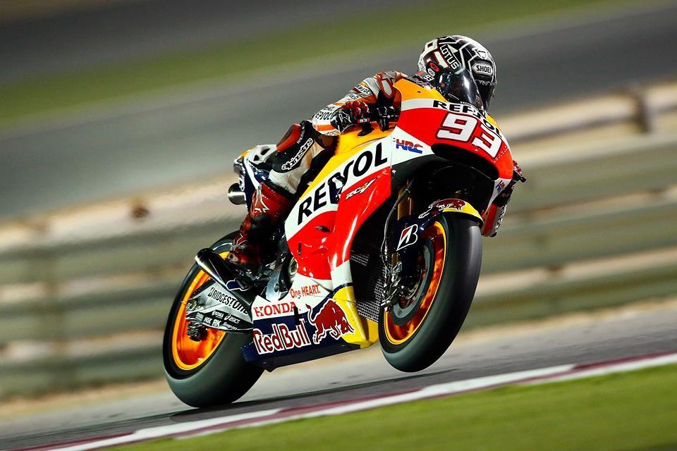 Márquez empieza mandando en Qatar