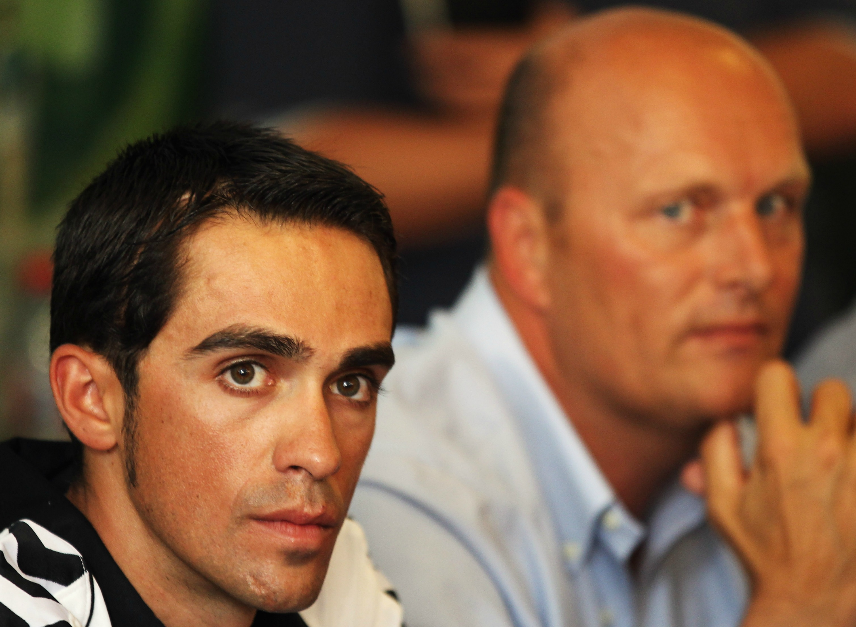 Contador y Riis