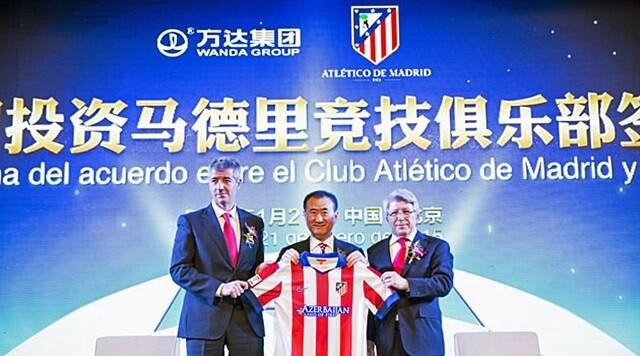 Wang Jianlin ya es dueño del 20% del Atlético de Madrid