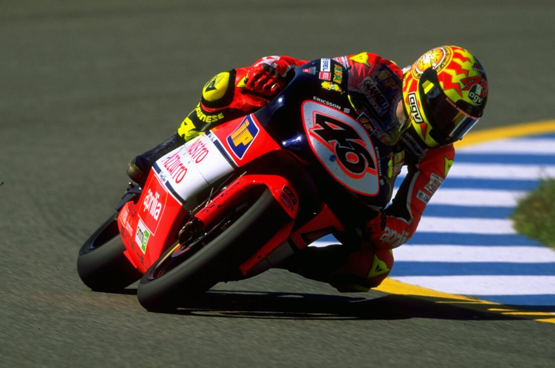 Victorias de Valentino Rossi desde 1996