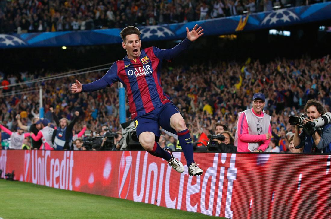 Las mejores imágenes del Barcelona - Bayern