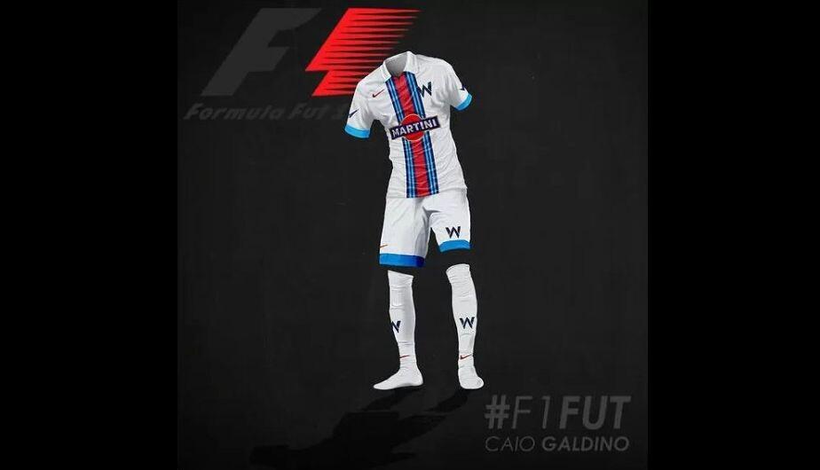 ¿Cómo vestirían los equipos de Fórmula 1 si jugaran al fútbol?