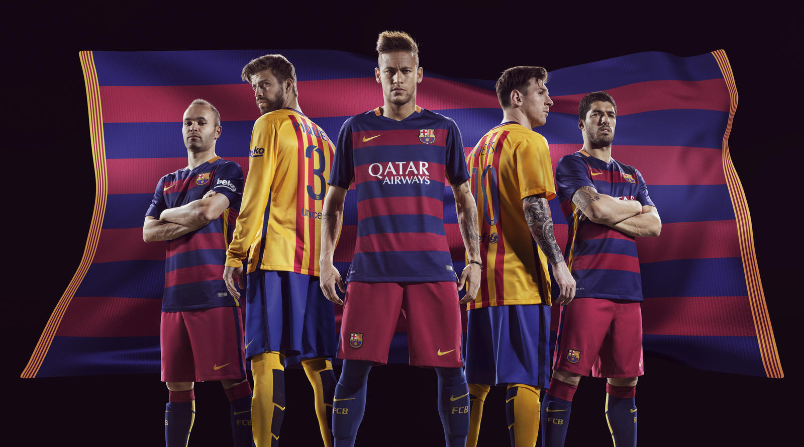 Las nuevas equipaciones del Barça 2015/16