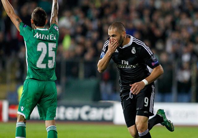 Benzema y su idilio con la Champions