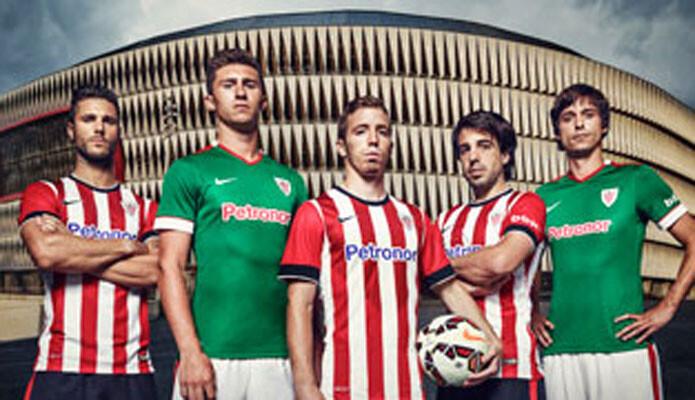 Foto las equipaciones del athletic para la liga y la champions sportyou - Horario oficinas bbva barcelona ...