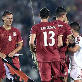 Ya hay sanción tras los incidentes del Serbia-Albania