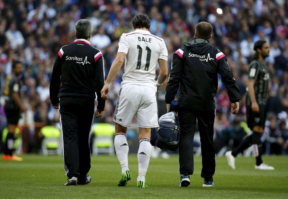Gareth Bale sufre una lesión muscular