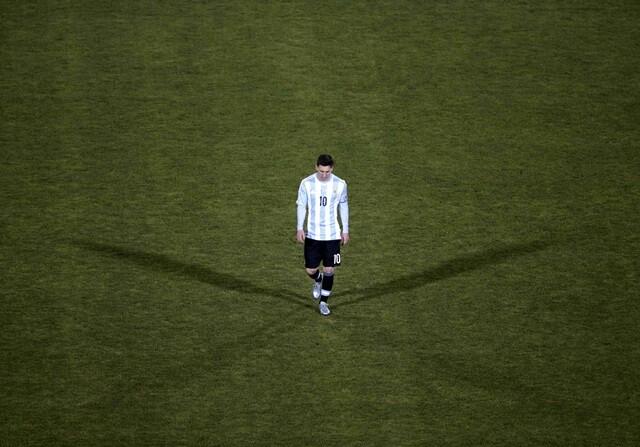 El mensaje de consuelo de Piqué a Messi