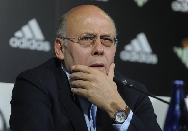 Juan Carlos Ollero, en rueda de prensa