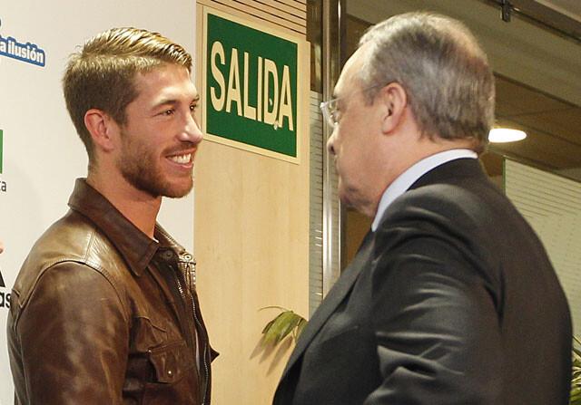 "Florentino Pérez, a Ramos: ""Si te vendo, me tengo que ir yo al día siguiente"""