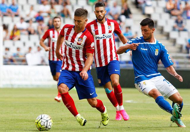Vietto se luce en la victoria del Atlético frente al Oviedo (0-2)