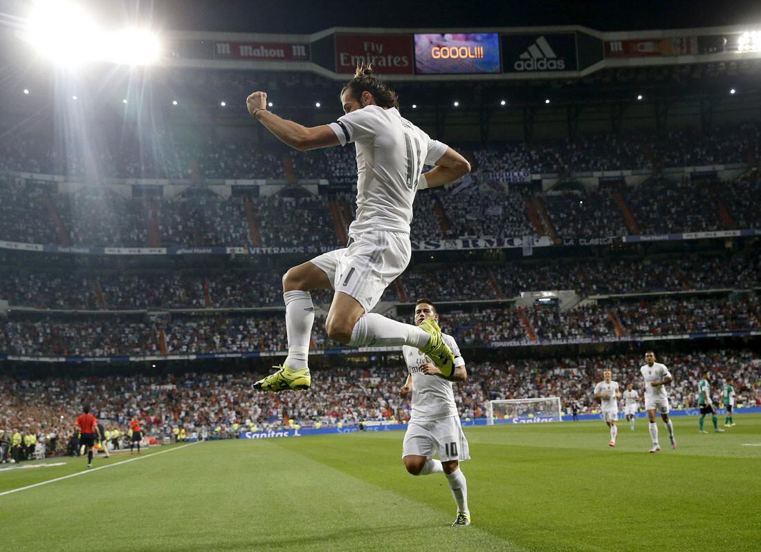 Las mejores imágenes de la goleada del Madrid al Betis