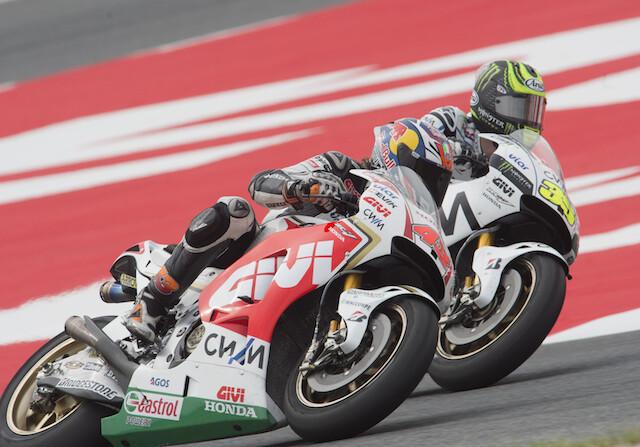 Jack Miller y Cal Crutchlow carrera motos