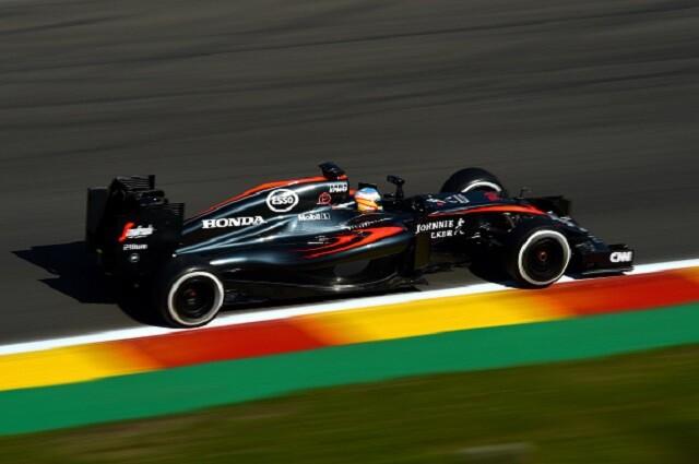 Coche de formula 1 Mclaren Honda