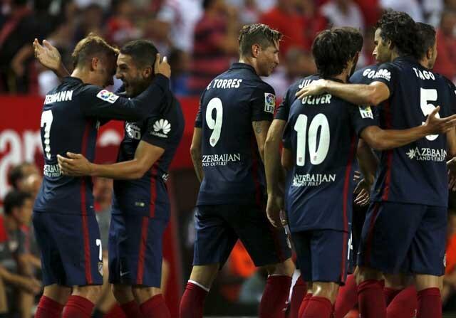 El Atlético da un golpe sobre la mesa ante el Sevilla