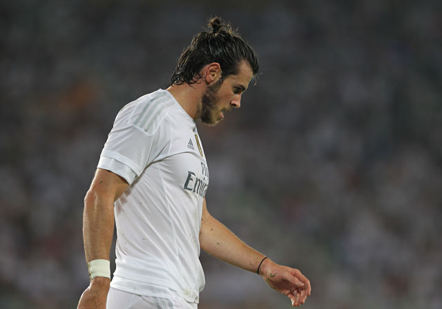 Con Gareth Bale en el foco