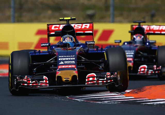 Toro Rosso prepara la salida manual para el GP de Bélgica