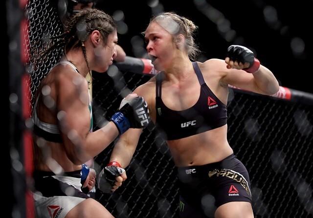 Ronda Rousey, campeona de UFC 190 en 34 segundos