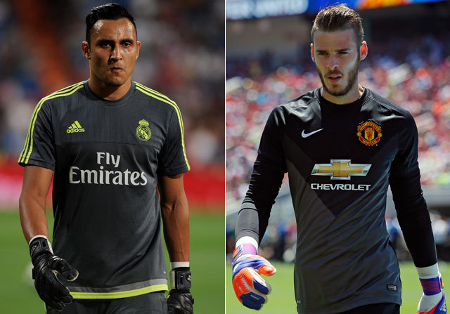 De Gea, al Real Madrid; Keylor Navas, al Manchester United