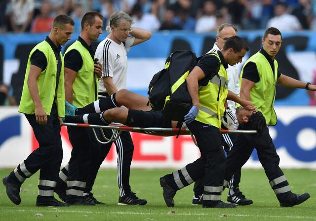 Dos meses de baja para Khedira en la Juventus