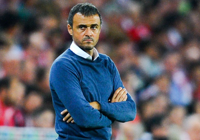 Luis Enrique no saca conclusiones por su ventaja inicial sobre el Real Madrid