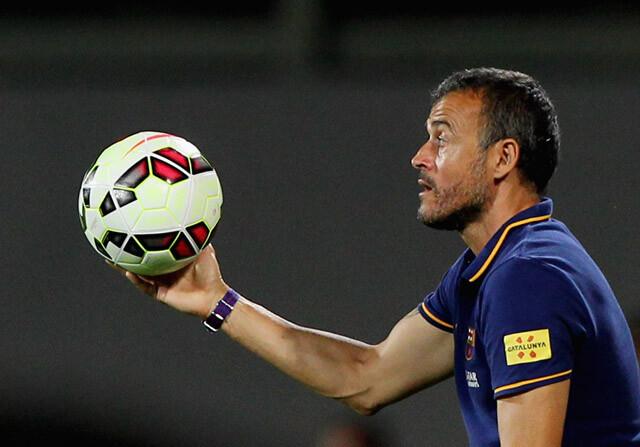 Luis Enrique balón