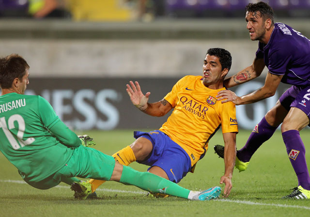 Una defensa frágil condena al Barça ante la Fiorentina