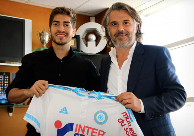 Lucas Silva llega al Olympique de Marsella
