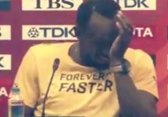 "Bolt bromea: ""Gatlin pagó al cámara para que me atropellara"""