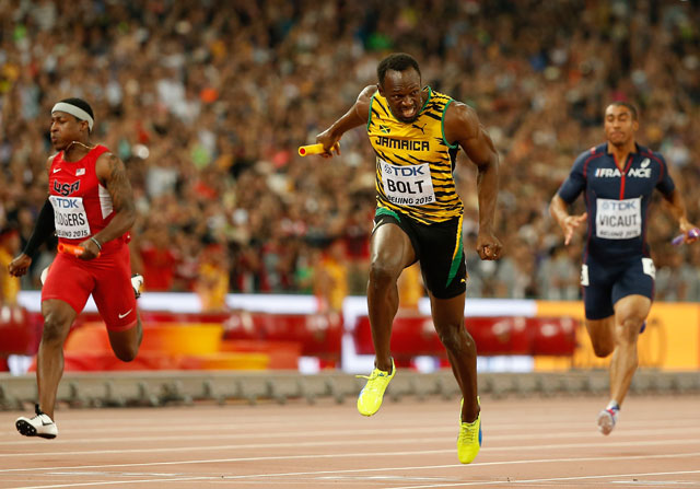 4x100: oro para Jamaica y descalificación para EEUU