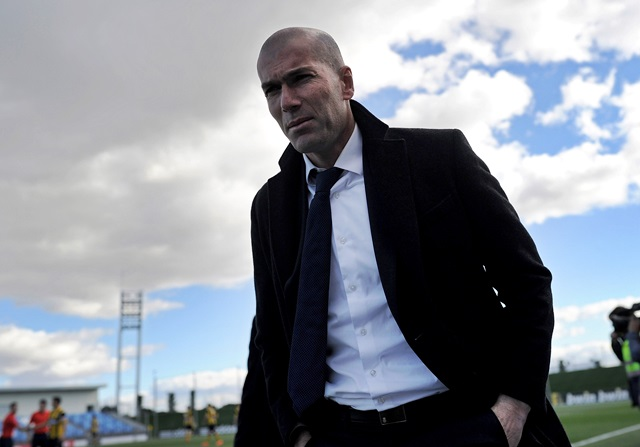 El veto de Zidane a uno de sus hijos en el Castilla