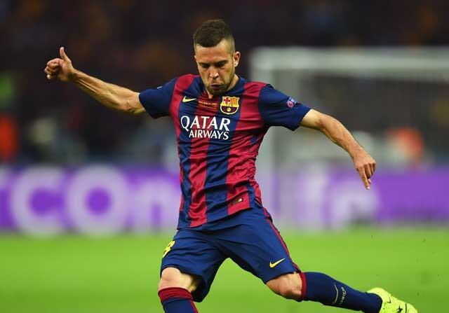Jordi Alba no es convocado con el Barcelona