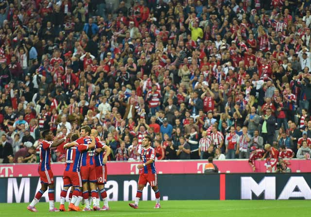 Bayern Munich en el Allianz