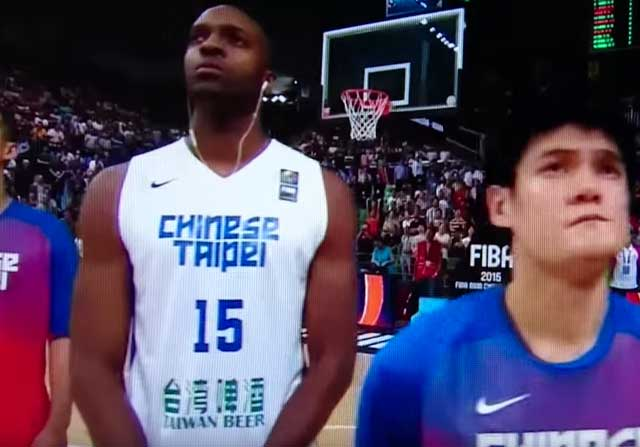 Quincy Davis con China Taipei