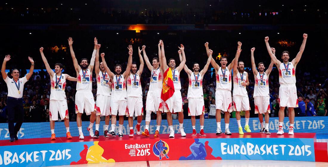 España gana el oro en el Eurobasket 2015