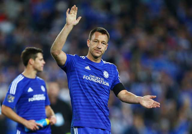 John Terry en el Chelsea