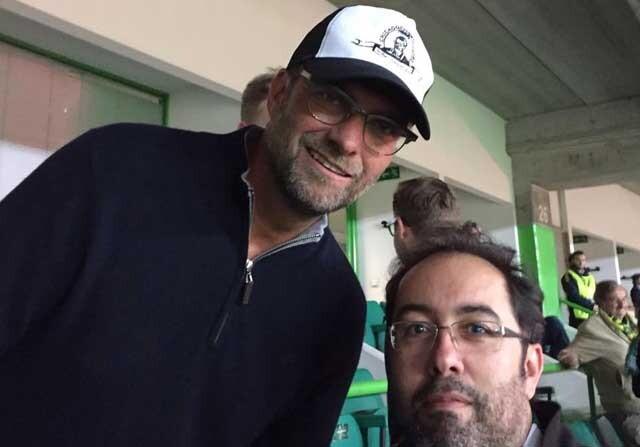 Jurgen Klopp, en un partido del Sporting de Lisboa
