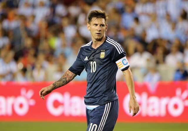 Lionel Messi, a la Copa America