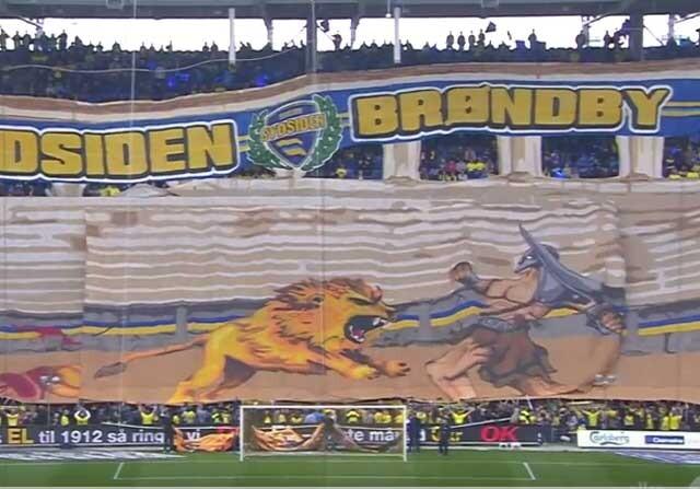 Mosaico en la liga danesa