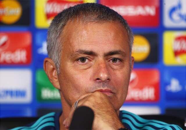 José Mourinho en primer plano