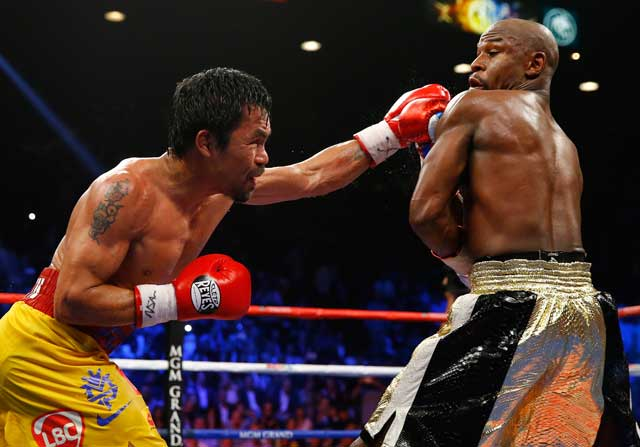 El combate del siglo Maywheater Pacquiao
