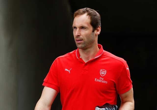 Petr Cech en el Arsenal