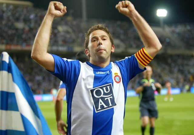 Raul Tamudo con el Espanyol