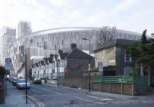estadio del Tottenham será el mayor de Londres