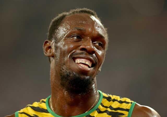 Usain Bolt en el mundial de atletismo
