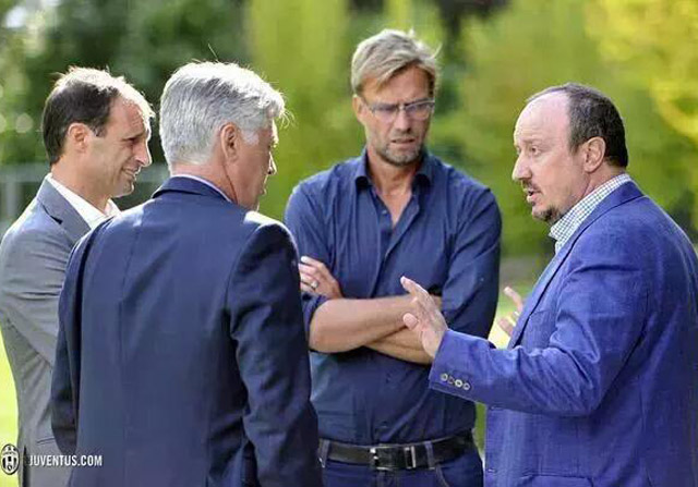 Las confidencias de Benítez y Ancelotti