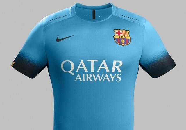 El FC Barcelona estrenará equipación contra la Roma en su debut en la  presente edición de la Champions League. De color azul eléctrico 1cc3db03bb5
